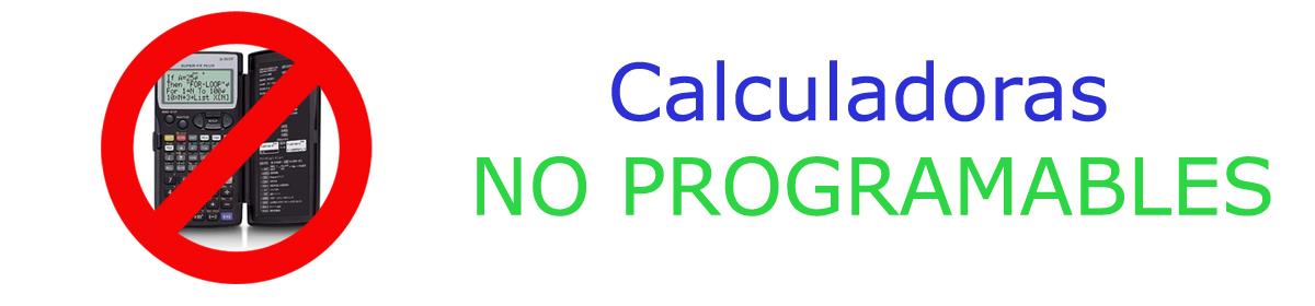 Calculadora No Programable